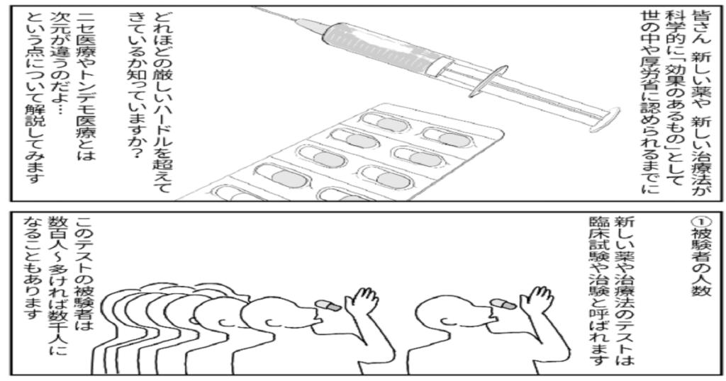 血液クレンジングに対して多くの医者が怒りの声を上げる理由はこの漫画を見るとよくわかる