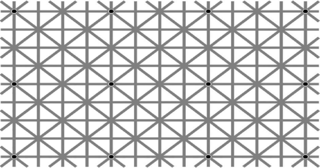 人間は12箇所の点を同時に認識できないってやつ拾ってきた